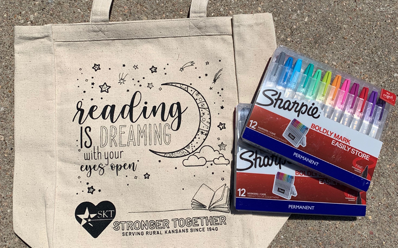 SKT Donates Bags to Local Summer Reading Programs
