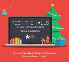 Skt Events 2019 Tech The Halls Giveaway