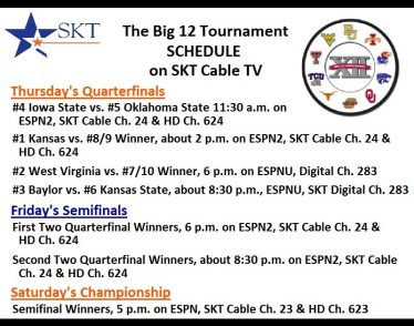 SKT Big 12 Thursday