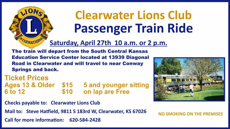 Lions Club Train Ride 2019